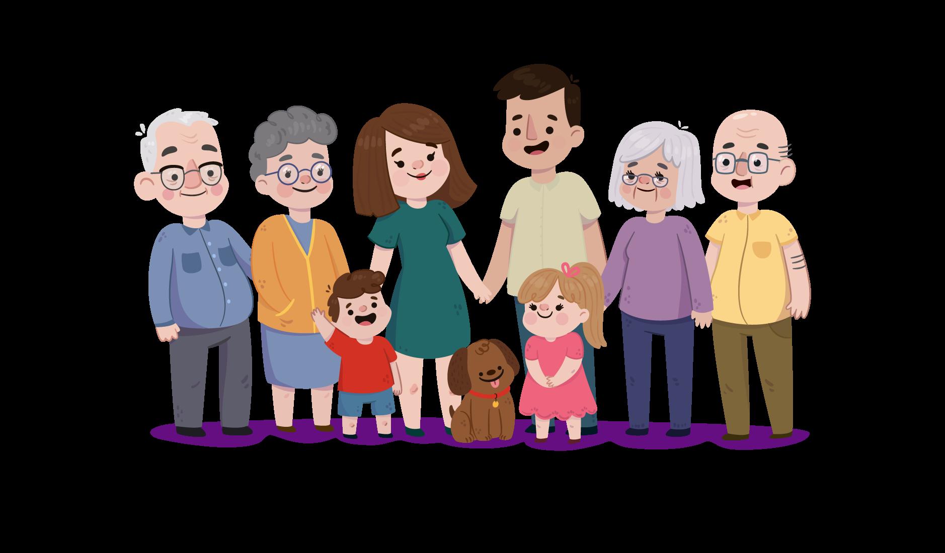 Actividades de integración familiar
